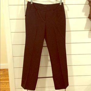 Black dress pants boot cut style